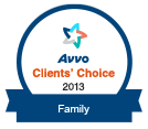 Avvo Clients' Choice 2013 - Family Law